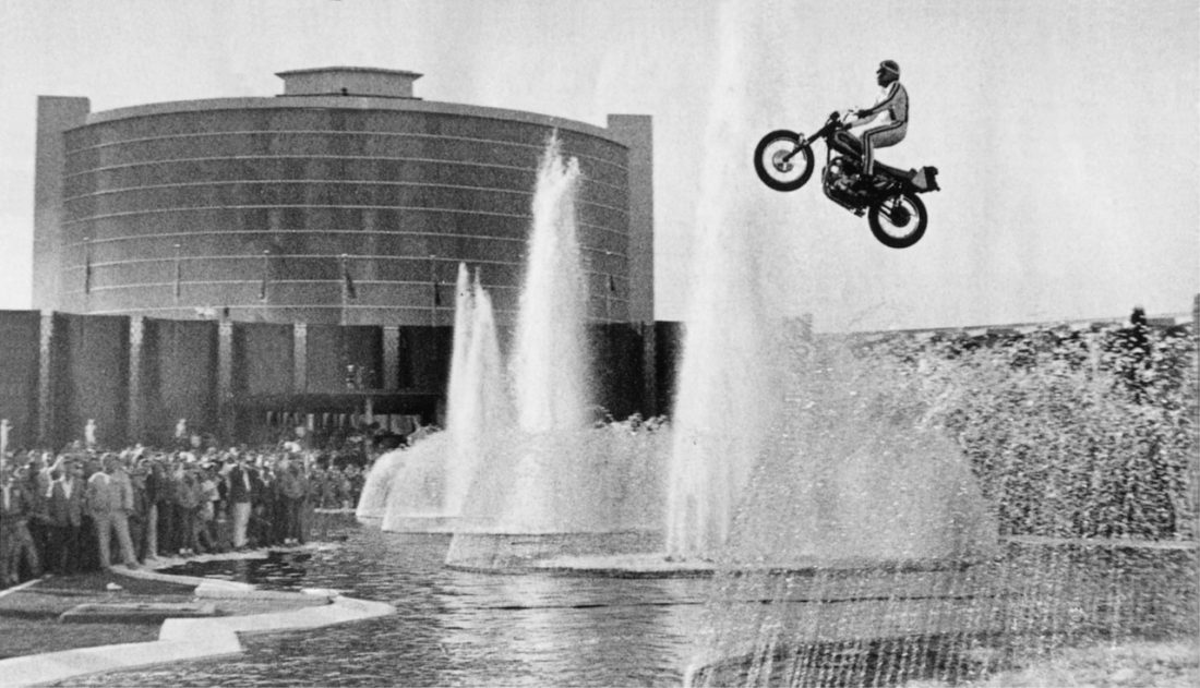 Evel Knievel S Movie Bike Up For Auction: Evel Knievel's Famous Leathers Up For Auction