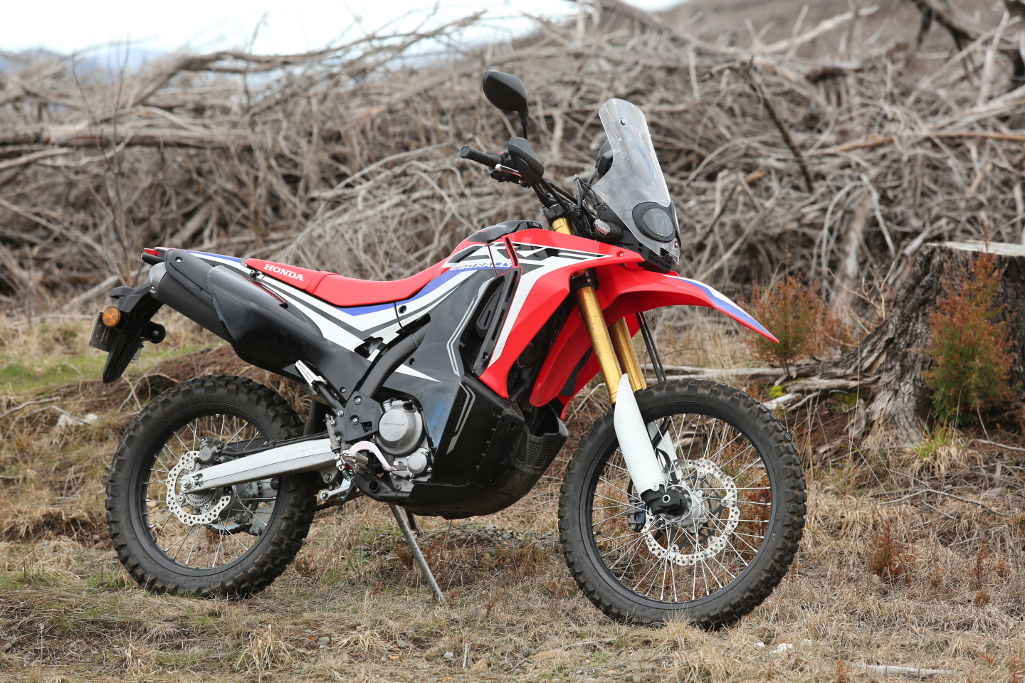 2017 Honda Crf250l Rally Bike Rider Magazine